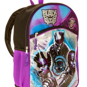 Black Panther kids Backpack Bag